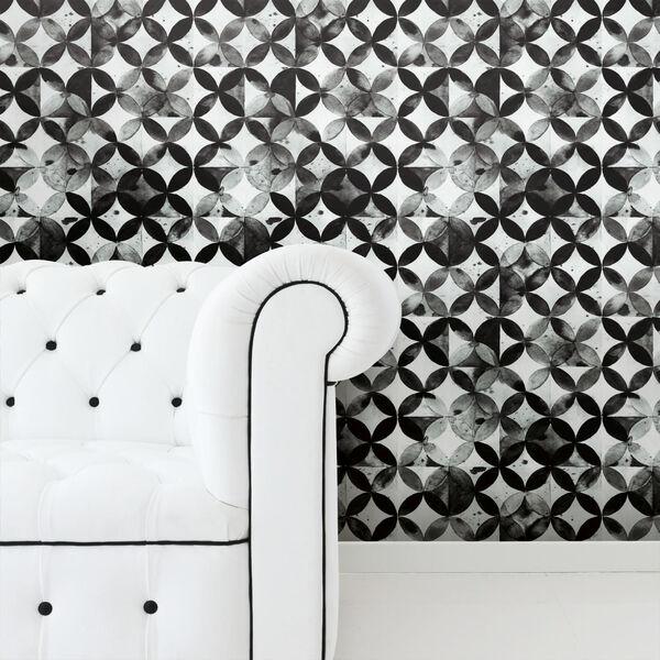 Paul Brent Moroccan Black Peel and Stick Wallpaper, image 2