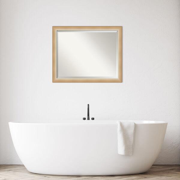 Eva Gold 31W X 25H-Inch Bathroom Vanity Wall Mirror, image 3
