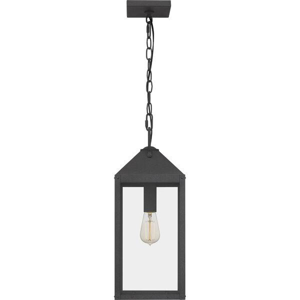 Thorpe Mottled Black One-Light Outdoor Pendant, image 4
