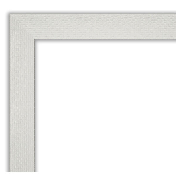 Mosaic White 22W X 28H-Inch Bathroom Vanity Wall Mirror, image 2