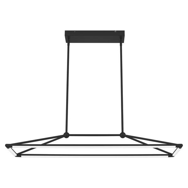 Ingram Matte Black LED Chandelier, image 5