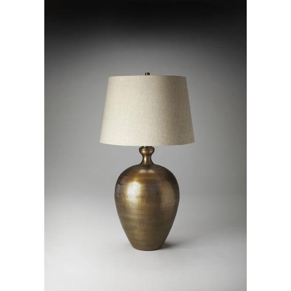 Jayson Antique Brass Table Lamp, image 2