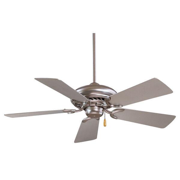 Supra 44  Brushed Steel Fan, image 1