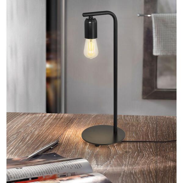 Adri Black One-Light Table Lamp, image 2