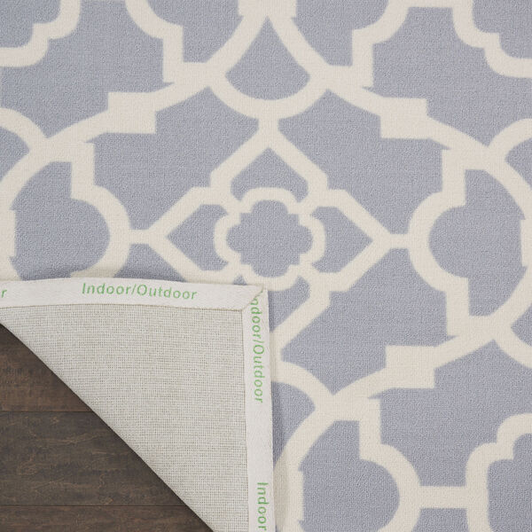 Sun and Shade Gray Indoor/Outdoor Area Rug, image 3