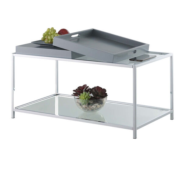 Palm Beach Gray Accent Coffee Table, image 4