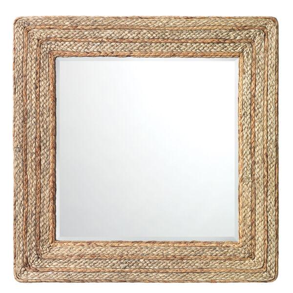 Evergreen Natural Square Mirror, image 1