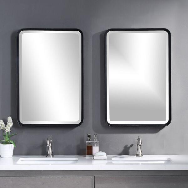 Croften Black Vanity Mirror, image 1