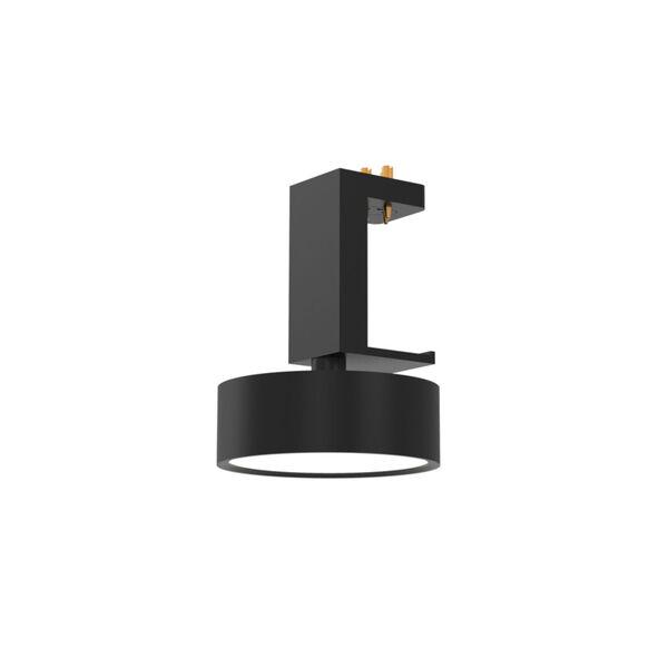 Mucci Matte Black and White LED Fixed Spotlight, image 1