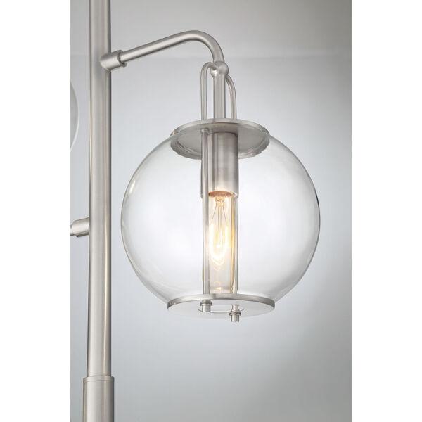 Kaira Brushed Nickel Two-Light Floor Lamp, image 2