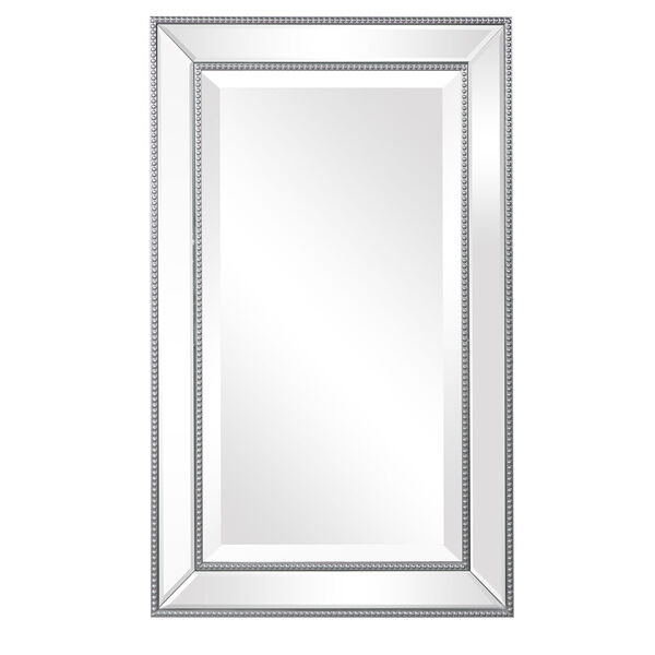 Monroe Silver Framed Rectangular Wall Mirror, image 2