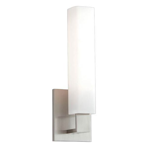 Emerson Satin Nickel One-Light Wall Sconce, image 1