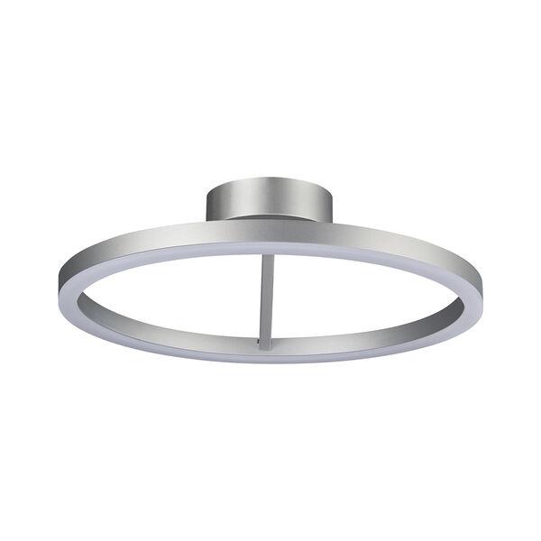 Zuben Silver LED Semi Flush Mount, image 6