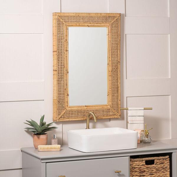 Jameson Naturla Rattan 36-Inch x 24-Inch Wall Mirror, image 1