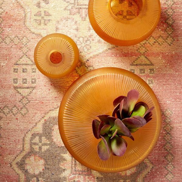 Amber 15-Inch Sun Flower Vase, image 3
