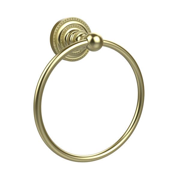 Dottingham Satin Brass Towel Ring, image 1