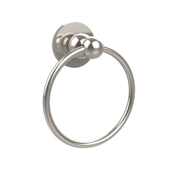 Polished Nickel Towel Ring, image 1