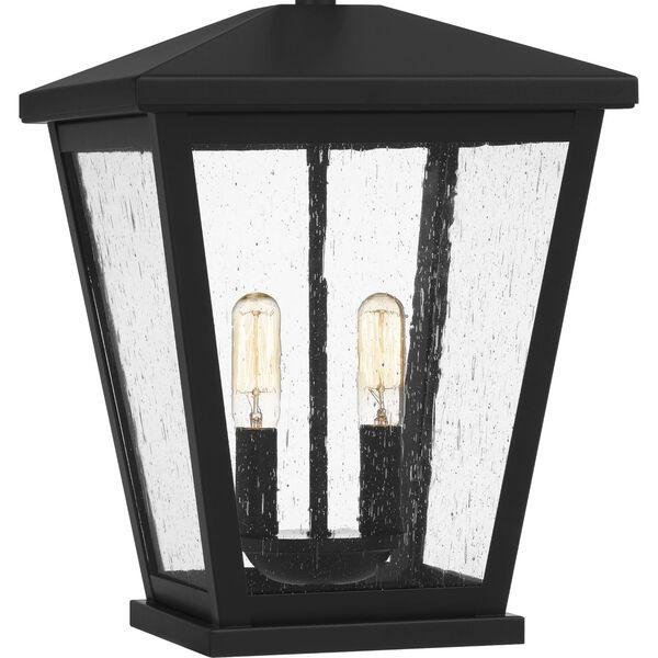 Joffrey Matte Black Two-Light Outdoor Pendant, image 6