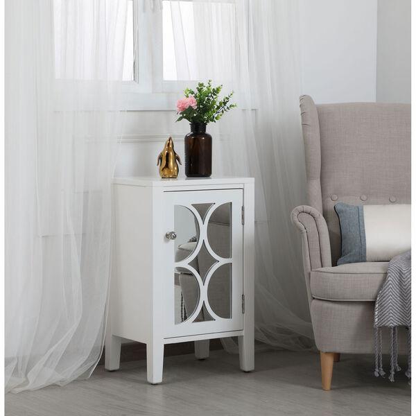 Modern White 18-Inch Cabinet, image 3