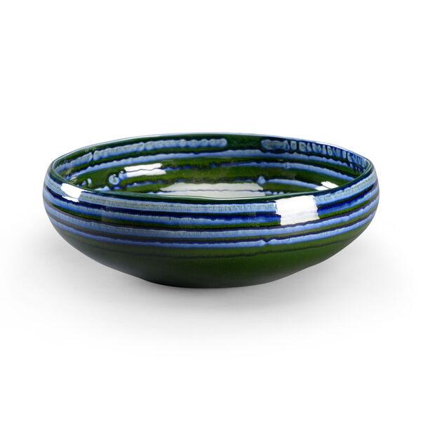 Blue 16-Inch Decorative Bowl, image 1