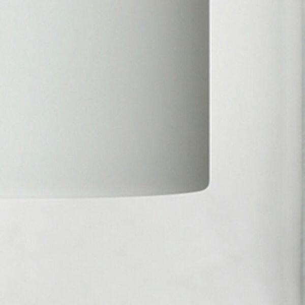 Pahu Chrome Three-Light Bath Fixture with Clear and Opal Glass, image 2