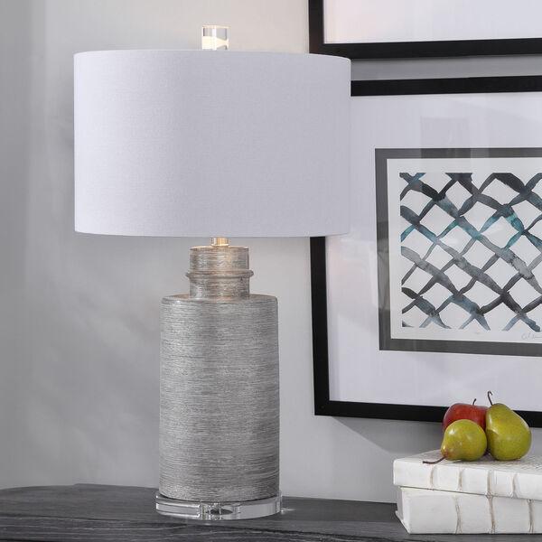 Anitra Metallic Silver 1-Light Table Lamp, image 2