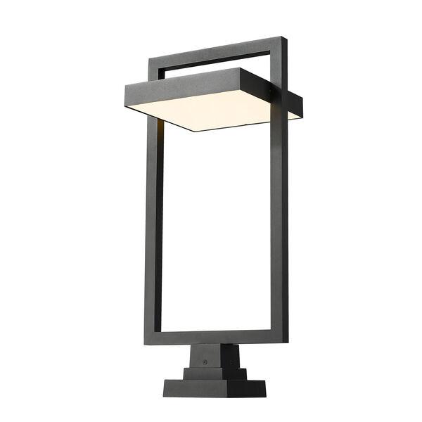 Luttrel Black 32-Inch One-Light LED Outdoor Pier Mount, image 1