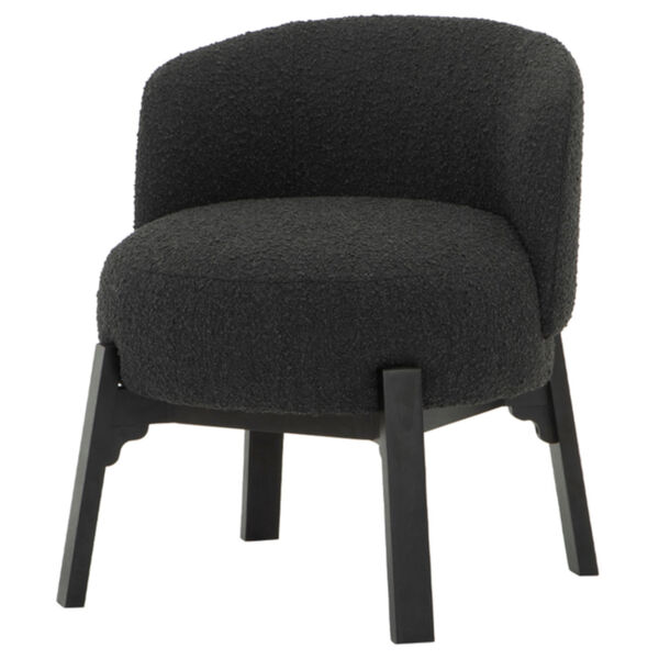 Adelaide Black Dining Chair, image 1
