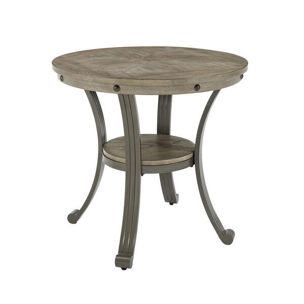 Elizabeth Pewter Round Side Table, image 5