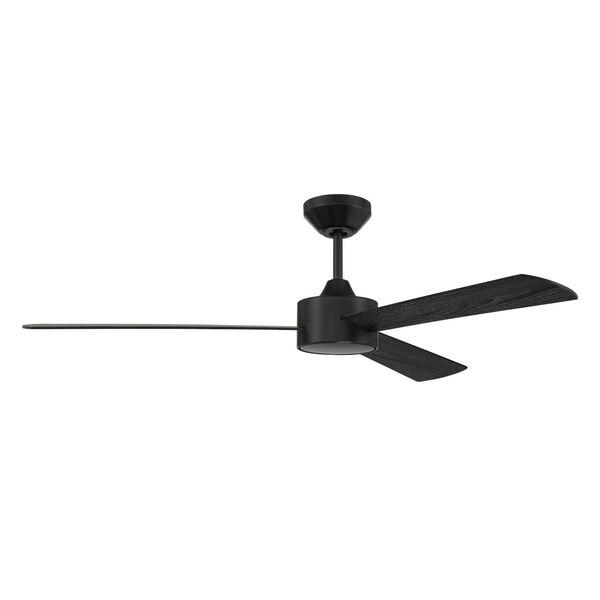 Provision Flat Black 52-Inch Ceiling Fan, image 2