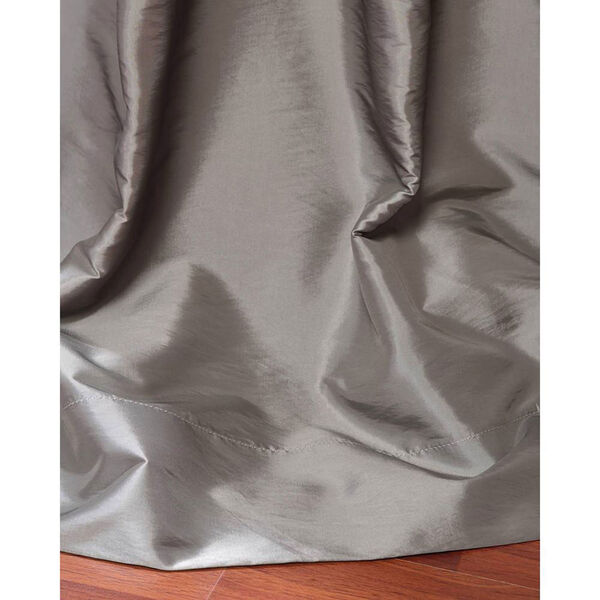 Platinum 84 x 50-Inch Grommet Blackout Faux Silk Taffeta Curtain Single Panel, image 3