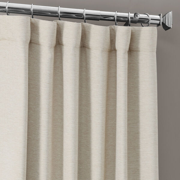 Bellino Cottage White 50 x 120-Inch Blackout Curtain, image 3
