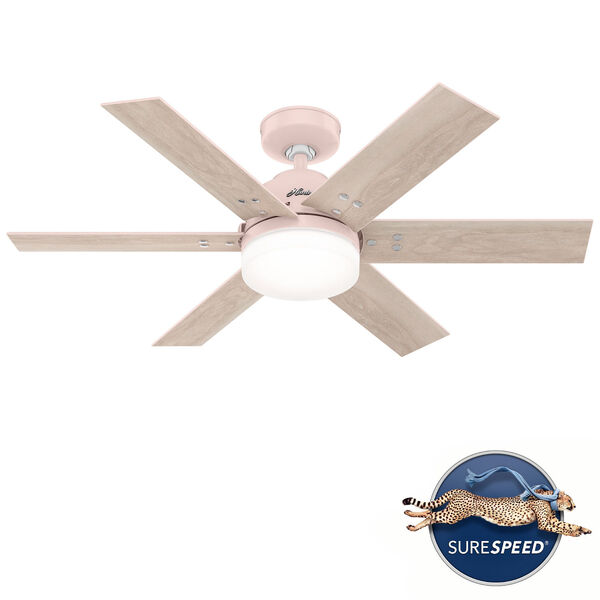 Pacer 44-Inch Two-Light LED Ceiling Fan, image 1