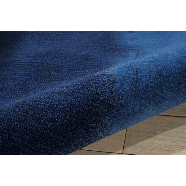Luster Wash Indigo Wash Indigo Rectangular: 5 Ft. 6 In. x 8 Ft. Rug, image 5