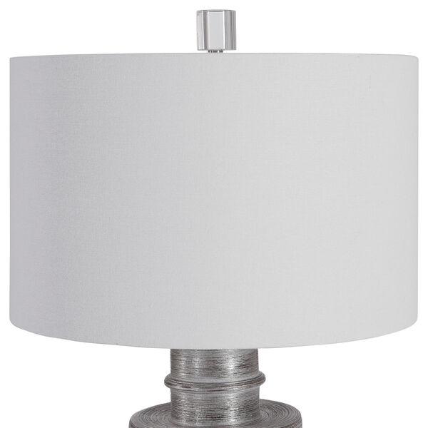 Anitra Metallic Silver 1-Light Table Lamp, image 5