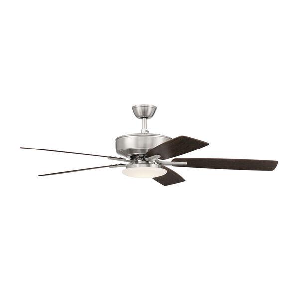 Pro Plus Brushed Polished Nickel 52-Inch LED Ceiling Fan, image 5