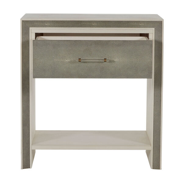 Alford White and Gray Nightstand, image 4