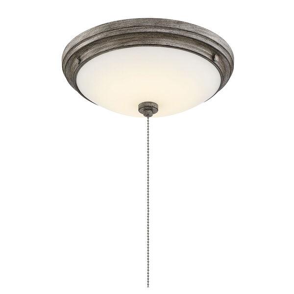 Lucerne Aged Wood One-Light Fan Light Kit, image 5