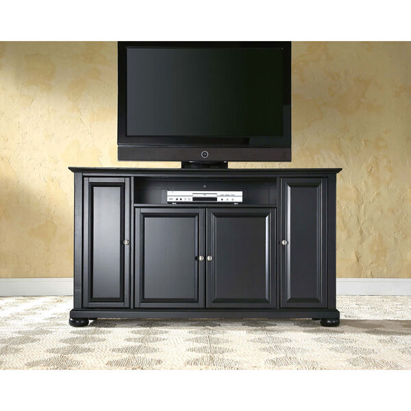 Alexandria 60-Inch TV Stand in Black Finish, image 5