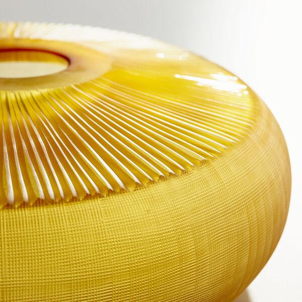 Amber 15-Inch Sun Flower Vase, image 2