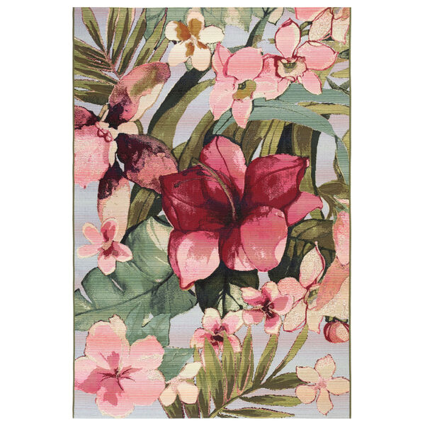 Marina Tropical Floral Indoor/Outdoor Rug, image 1