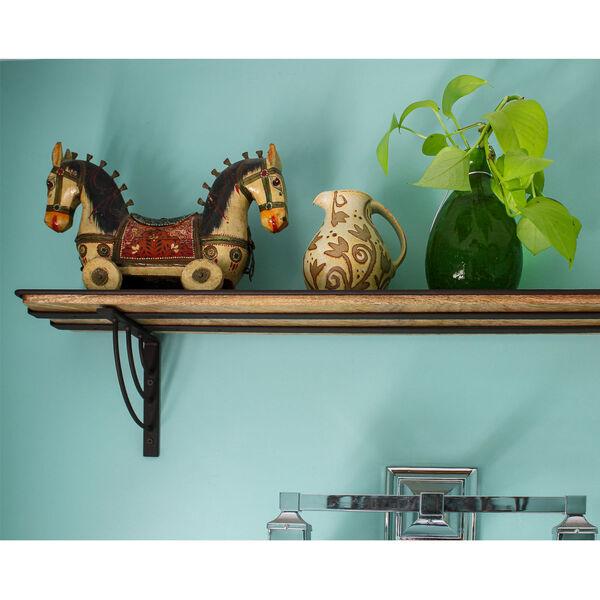 Vita Roman Bronze Powdercoat Windowsill Shelf Bracket, image 6