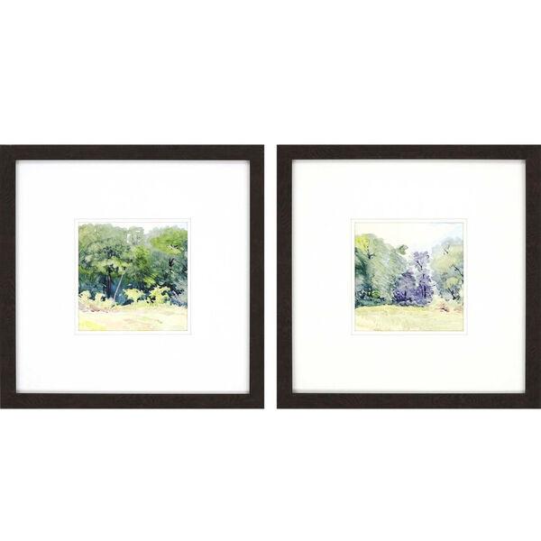 Petite Bella Green Framed Art, Set of Two, image 2