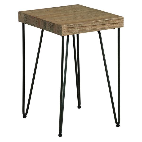 Everett Natural Rectangular Chairside Table, image 1