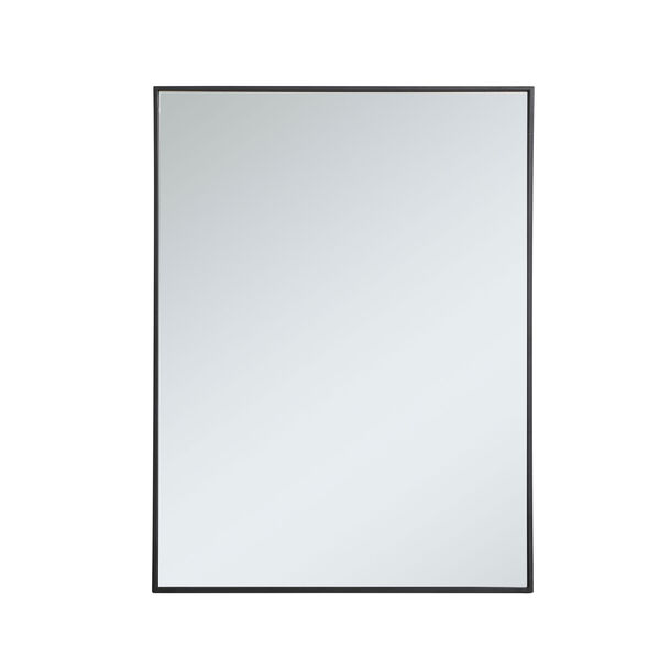 Eternity Rectangular Mirror with Metal Frame, image 1