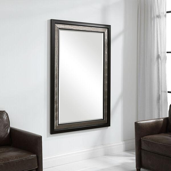 Chamberlain Silver and Ebony Mirror, image 1