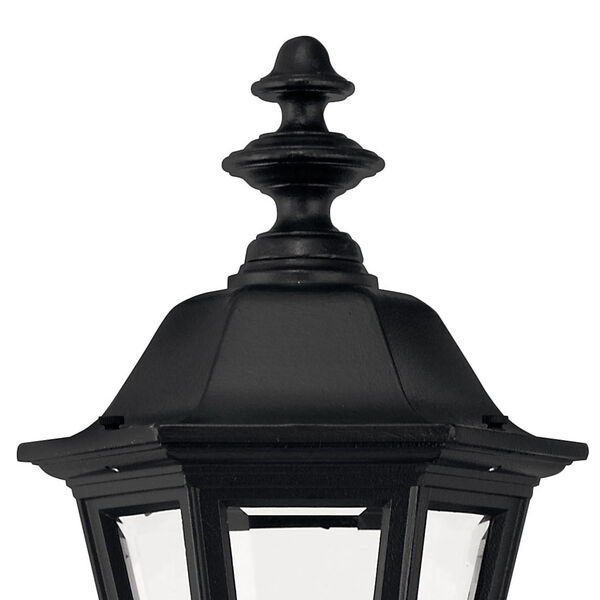 Manor House Black 19-Inch Outdoor Wall Mount, image 3