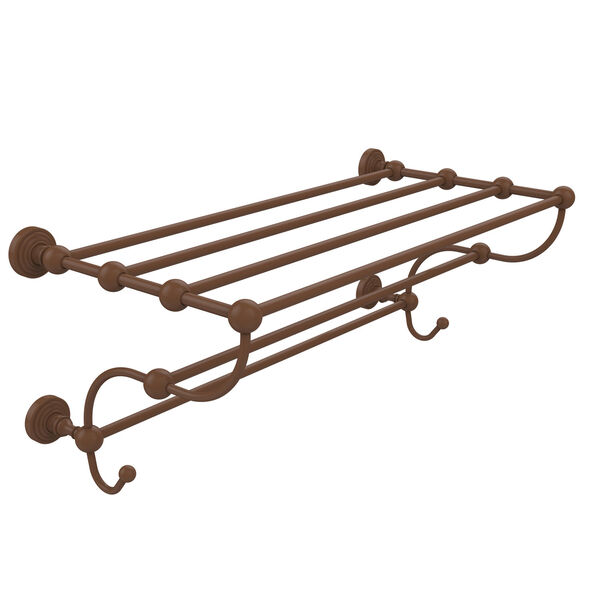 Waverly Place Collection 24-Inch Train Rack Towel Shelf, image 1
