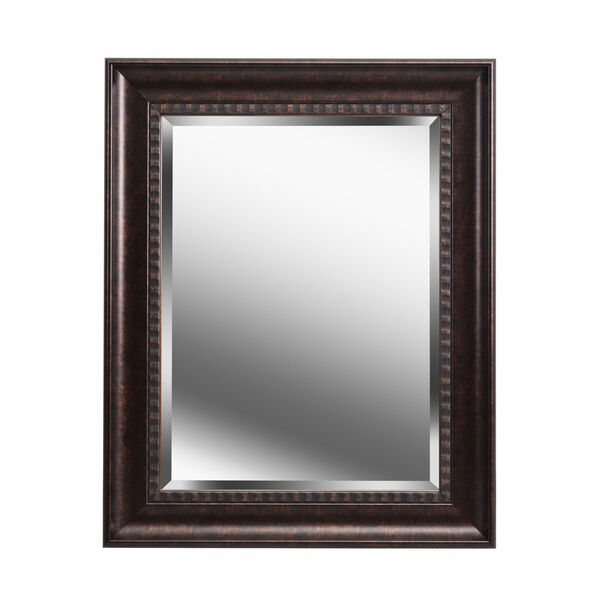 Amiens Bronze and Gold Highlight 24-Inch Wall Mirror, image 2