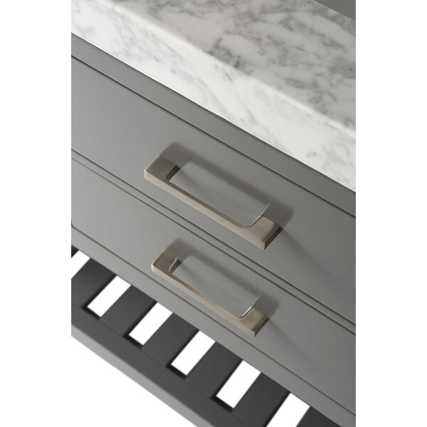 Elizabeth Sapphire Gray 48-Inch Vanity Console, image 3